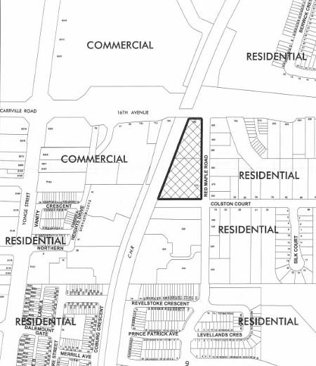 Usocial Townhomes Site Plan in Richmond Hill